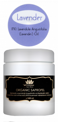 "Organic sapropel with ""Lavender"" essential oil"