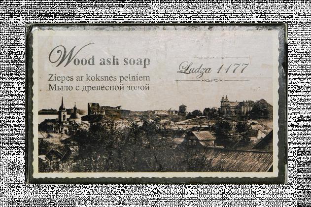 Wood ash soap