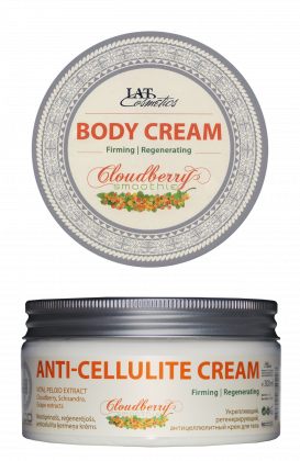 Firming, regenerating, anti-cellulite body cream