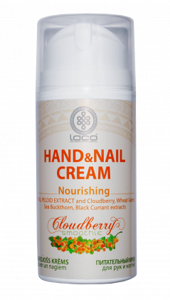 Nourishing hand and nail cream