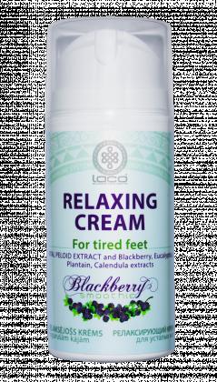 Relaksējošs krēms nogurušām kājām