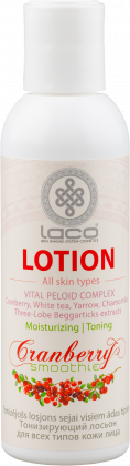 Toning facial lotion