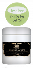 "Image: Organic sapropel with ""Tea tree"" essential oil"