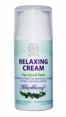 Relaxing cream for tired feet