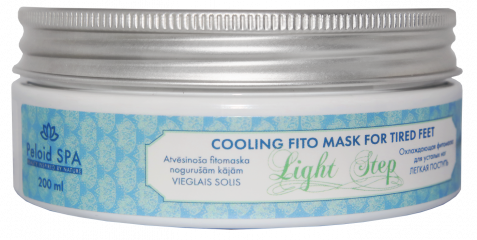 Cooling fito mask for tired feet