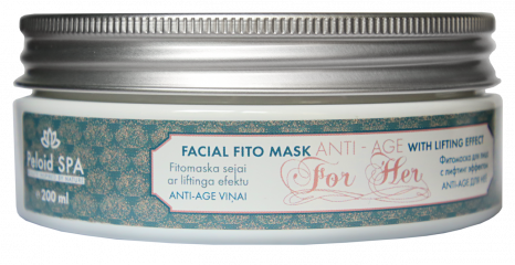 Facial fito mask with lifting effect